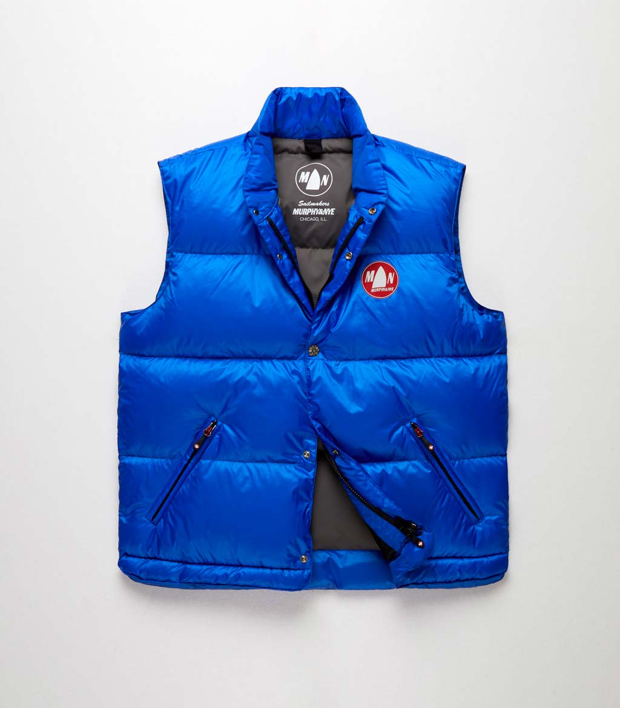 Murphy&Nye vest light blue no sleeves Dinghy